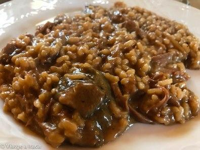Arroz de pato y parmesano