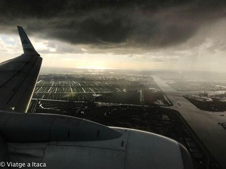 Aterrizando en Amsterdam