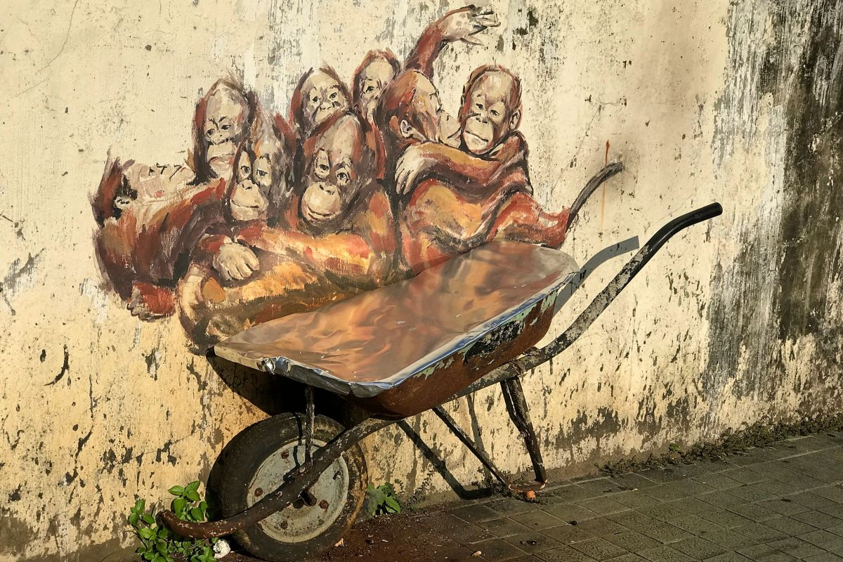 Ernest Zacharevic Kuching